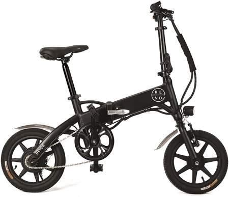 REVOE Urban Bicicletta Elettrica Pieghevole