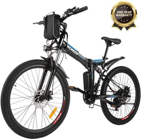 BIKFUN 20/26 Bicicletta Elettrica Pieghevole
