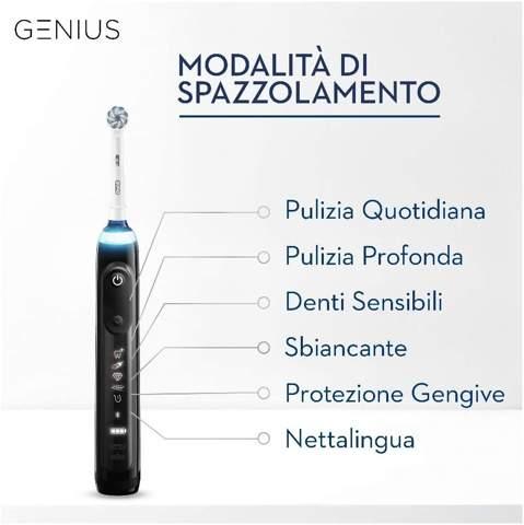 modalità di spazzolamento oral b genius 10000n