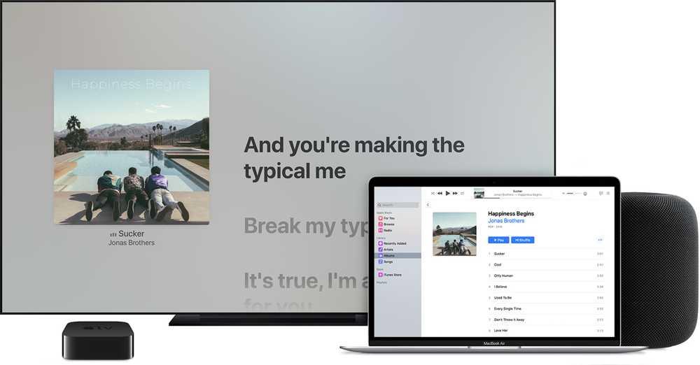 Apple Air Play. Crediti Apple.