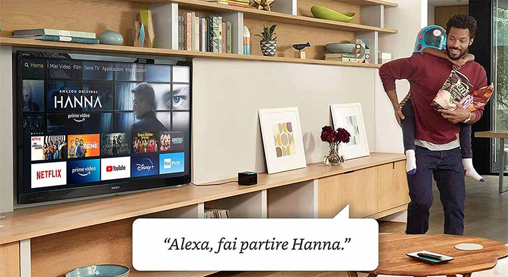 Funzionamento Amazon TV Cube