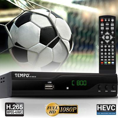 Tempo 4000 Decoder Digitale Terrestre DVB T2