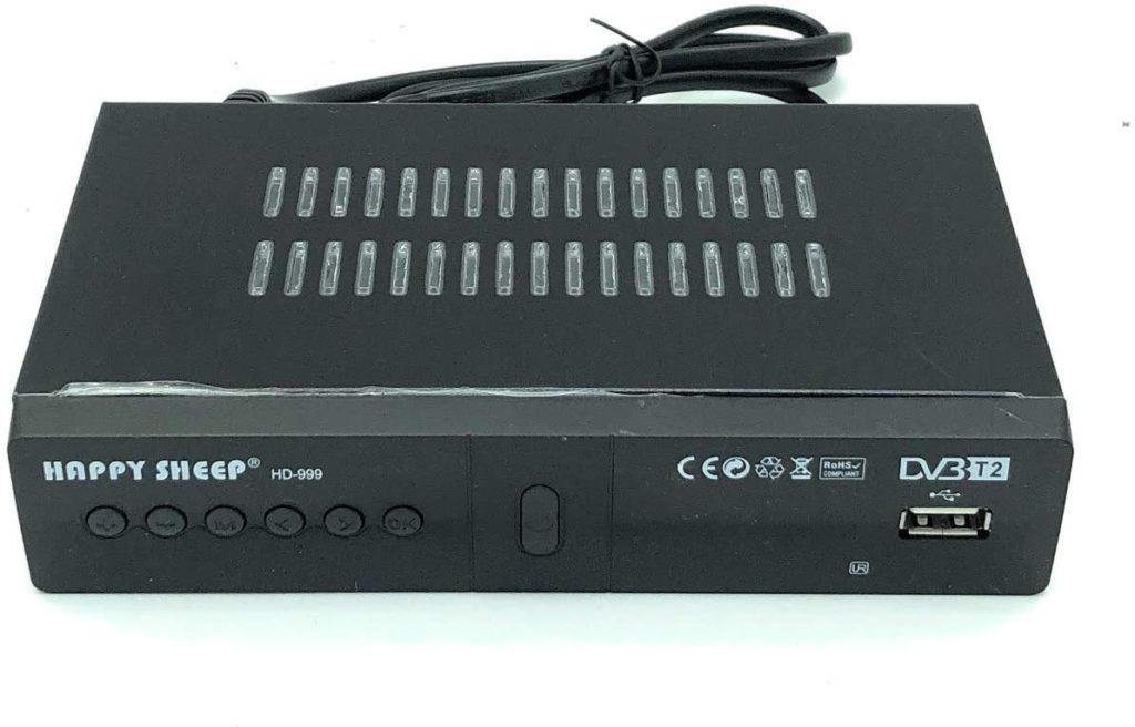 Decoder ricevitore digitale terrestre DVB T-2 Leovin