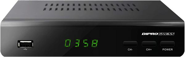 Diprogress Decoder Dvb-T2 Hevc H265
