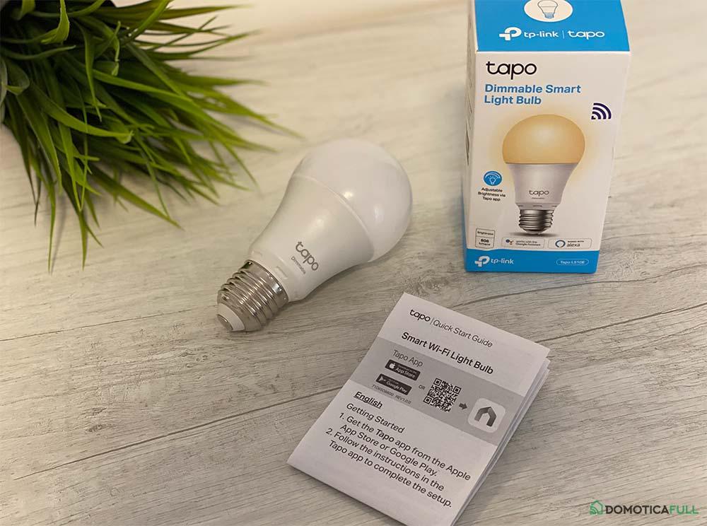 Design della lampadina Tapo L510E