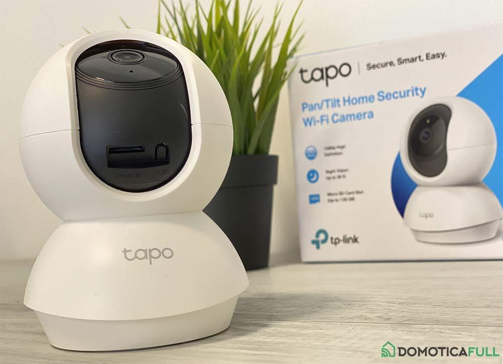 Ingresso Micro SD Tapo C200