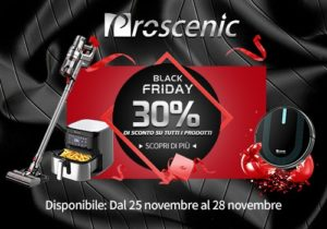 proscenic black friday