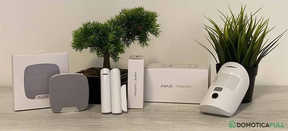 Sistema antifurto Ajax