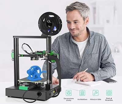 Funzionamento stampante 3D