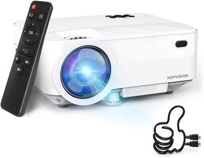 HOPVISION Mini Proiettore 1080P Full HD