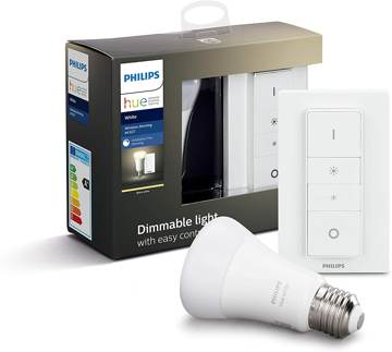 Philips Lighting Hue Kit con 1 Lampadina White