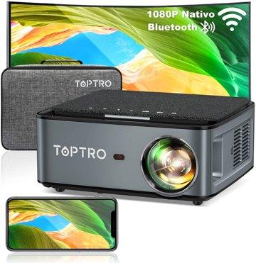 Proiettore TOPTRO X1 WiFi 7500 Lux