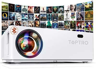 TOPTRO TR81 Proiettore 7200 Lux