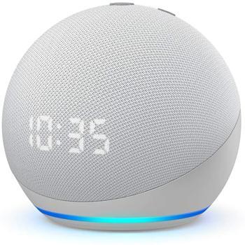 Nuovo Echo Dot (4ª generazione) con orologio
