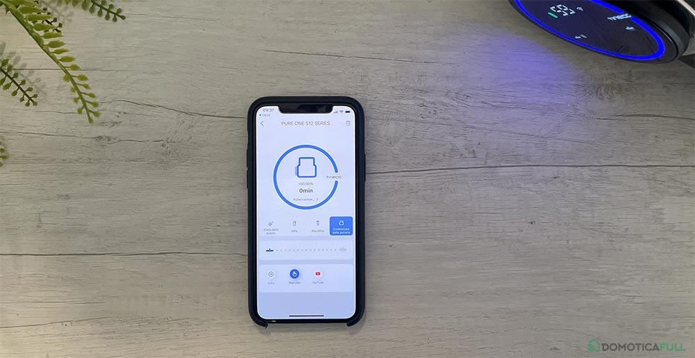 L'applicazione smart - Tineco Pure One S12