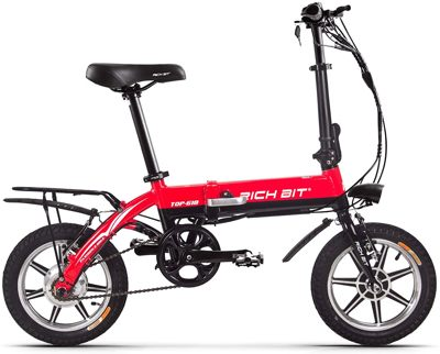 Esempio di una bici elettrica pieghevole