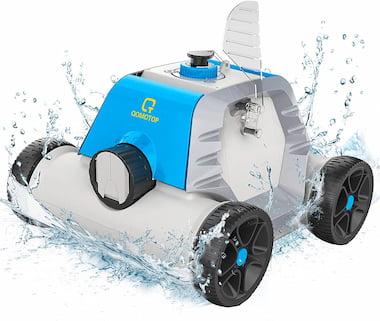 OT QOMOTOP Robot pulitore per piscine
