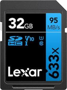 Lexar Scheda SD 633X