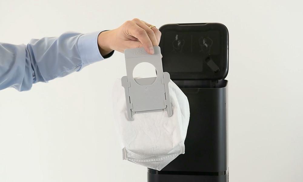 Il sacchetto che raccoglie la polvere - Fonte irobotstore.it
