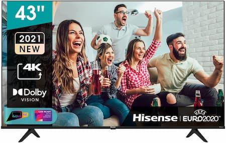 """Hisense 43"""" UHD 4k 2021 43A68G"""