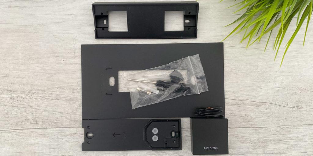 parti per montaggio netatmo videocitofono smart