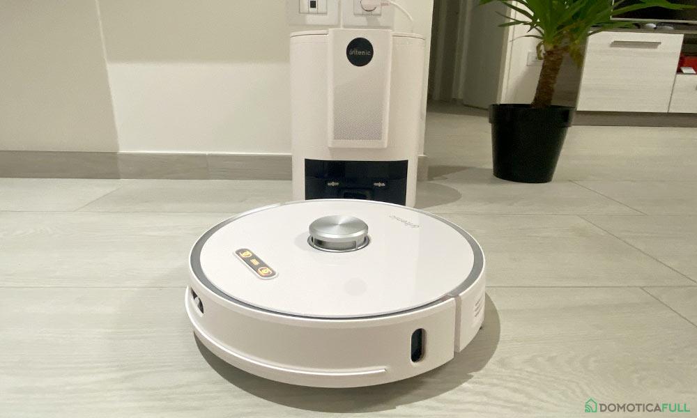 Il robot aspirapolvere 2-in-1 Ultenic T10