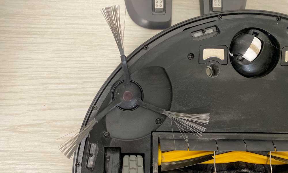 Spazzole rotanti usurate: così sono da sostituire