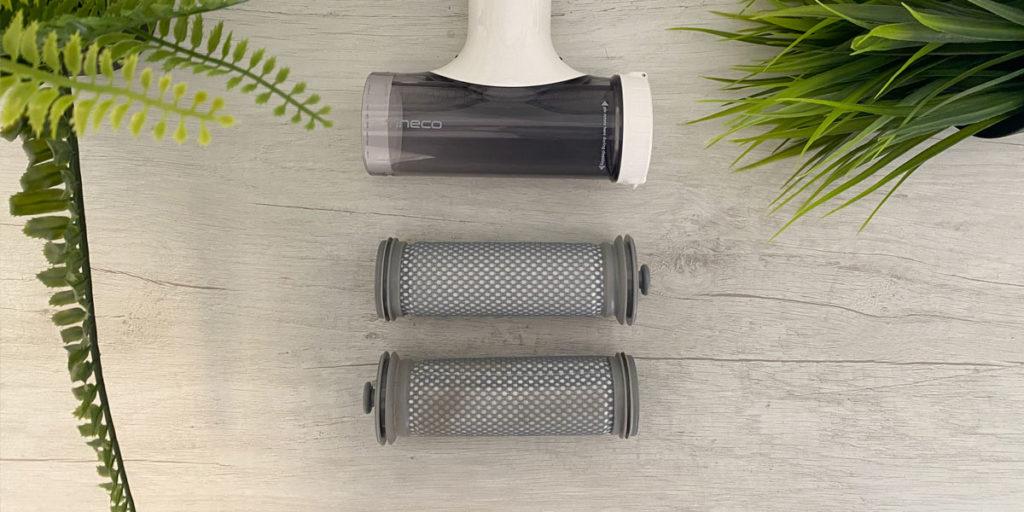 Pulizia pre filtri di una scopa elettrica