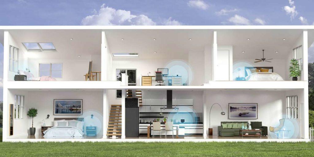 Esempio di una smart home
