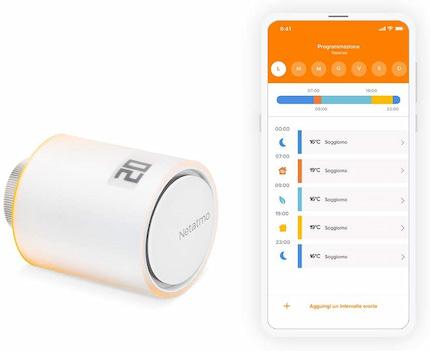 Valvola termostatica smart di Netatmo