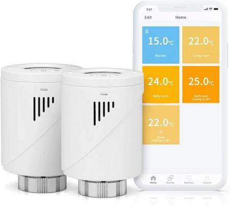 Meross Valvola Termostatica Intelligente Wifi